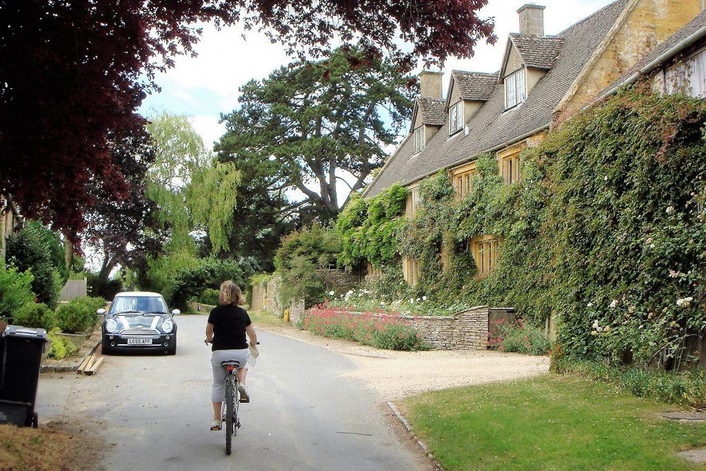 Evenlode village, Gloucestershire