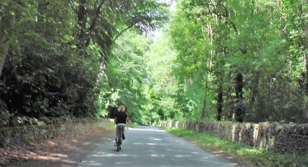 the road to Chastleton
