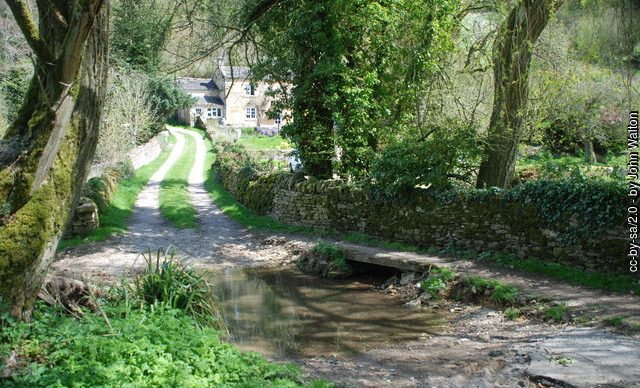 photo: the ford at Turkdean
