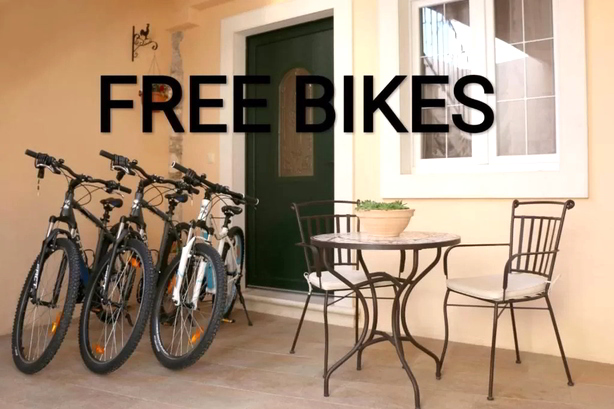 hotels, apartments, cottages with free bicycles