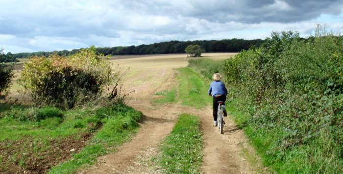 Finding your way cycling off-road