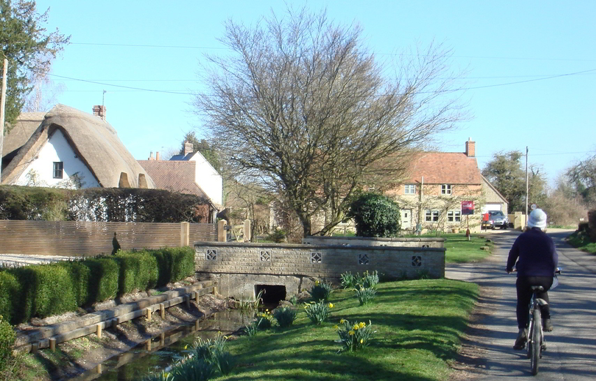 Northmoor village, Oxfordshire